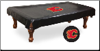 Calgary Flames Pool Table Cover