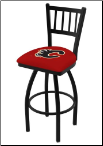 Calgary Flames L018BW Bar Stool