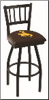 Wyoming Cowboys L018BW Bar Stool