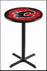 Calgary Flames L211 Pub Table
