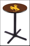 Wyoming Cowboys L211 Pub Table