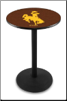 Wyoming Cowboys L214 Pub Table