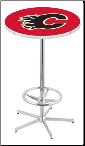 Calgary Flames L216 Pub Table