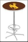 Wyoming Cowboys L216 Pub Table