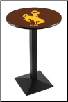 Wyoming Cowboys L217 Pub Table