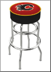 Calgary Flames L7C1 Bar Stool