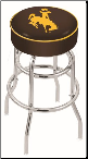 Wyoming Cowboys L7C1 Bar Stool