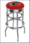 Calgary Flames L7C3C Bar Stool