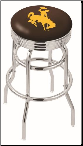 Wyoming Cowboys L7C3C Bar Stool