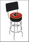 Calgary Flames L7C4 Bar Stool