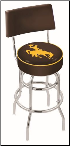 Wyoming Cowboys L7C4 Bar Stool