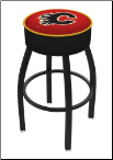 Calgary Flames L8B1 Bar Stool