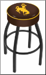 Wyoming Cowboys L8B1 Bar Stool