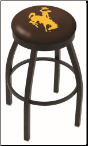 Wyoming Cowboys L8B2B Bar Stool