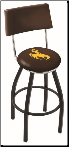 Wyoming Cowboys L8B4 Bar Stool