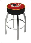Calgary Flames L8C1 Bar Stool