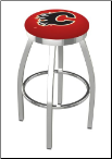 Calgary Flames L8C2C Bar Stool