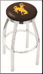 Wyoming Cowboys L8C2C Bar Stool