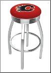 Calgary Flames L8C3C Bar Stool
