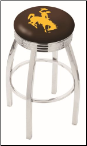Wyoming Cowboys L8C3C Bar Stool