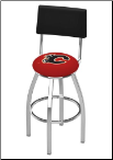 Calgary Flames L8C4 Bar Stool