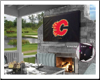 Calgary Flames Outdoor TV Cover