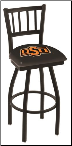 Oklahoma State Cowboys L018BW Bar Stool