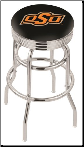 Oklahoma State Cowboys L7C3C Bar Stool