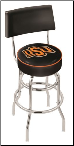 Oklahoma State Cowboys L7C4 Bar Stool