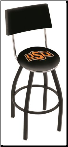 Oklahoma State Cowboys L8B4 Bar Stool