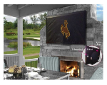 Wyoming Cowboys Outdoor TV Cover