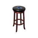 Dallas Cowboys NFL Wooden Legs Bar Stool