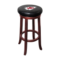 Kansas City Chiefs NFL Wooden Legs Bar Stool