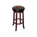 Chicago Bears NFL Wooden Legs Bar Stool