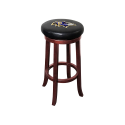 Baltimore Ravens NFL Wooden Legs Bar Stool