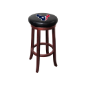 Houston Texans NFL Wooden Legs Bar Stool