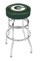 Green Bay Packers Bar Stool w/ Retro Style Base