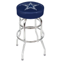 Dallas Cowboys Bar Stool w/ Retro Style Base