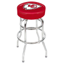 Kansas City Chiefs Bar Stool w/ Retro Style Base