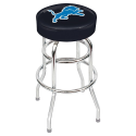 Detroit Lions Bar Stool w/ Retro Style Base