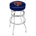 Chicago Bears Bar Stool w/ Retro Style Base