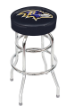 Baltimore Ravens Bar Stool w/ Retro Style Base