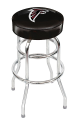 Atlanta Falcons Bar Stool w/ Retro Style Base