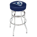 Los Angeles Rams Bar Stool w/ Retro Style Base