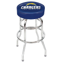 Los Angeles Chargers Bar Stool w/ Retro Style Base