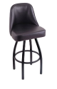 840 Grizzly Stool with Black Wrinkle Finish 360 Swivel