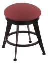 "900 Laser 18"" Vanity Stool w/ Allante Wine Seat and 360 Swivel"