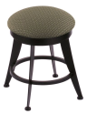 "900 Laser 18"" Vanity Stool w/ Axis Grove Seat and 360 Swivel"