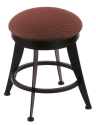 "900 Laser 18"" Vanity Stool w/ Axis Paprika Seat and 360 Swivel"