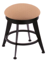 "900 Laser 18"" Vanity Stool w/ Axis Summer Seat and 360 Swivel"